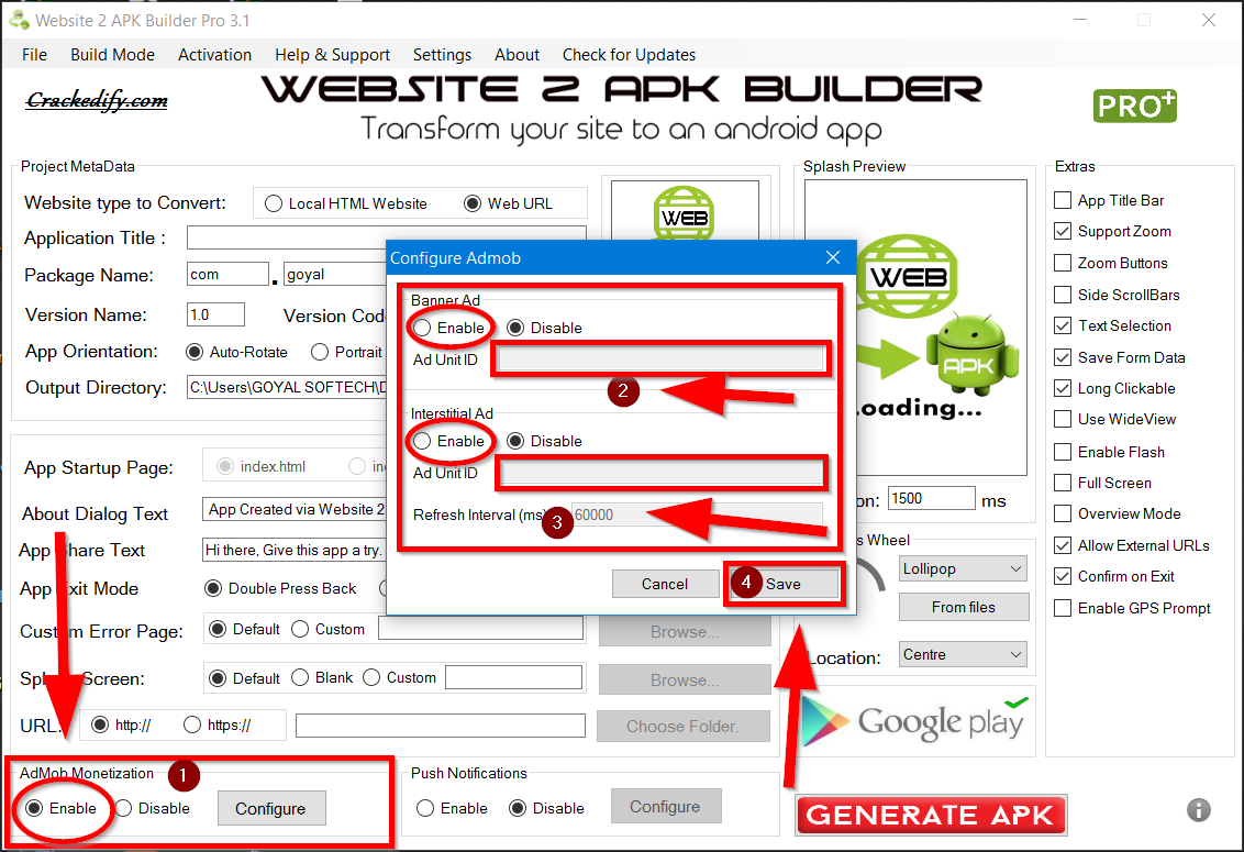 Website 2 Apk Builder Crack Activation Key Is Here Latest