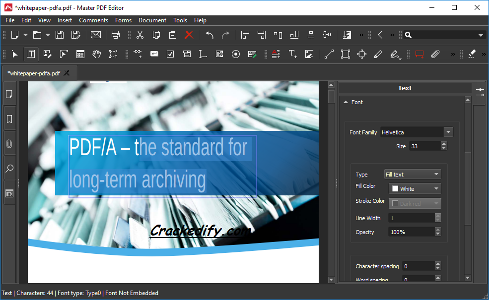 Master PDF Editor 5.6.49 Crack [Professional Version] 2021